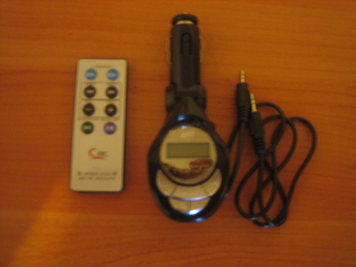 Mp3 WMA Wireless FM Modulator